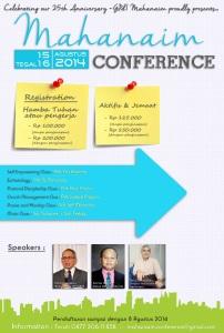 Mahanaim Conference 2014